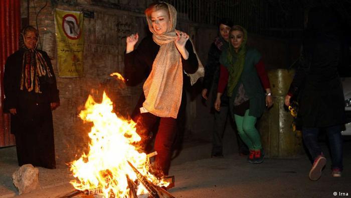 Charshanbeh-Souri im Iran