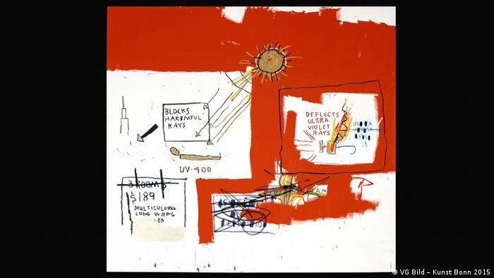 Jean-Michel Basquiat, Amber Vision, 1988