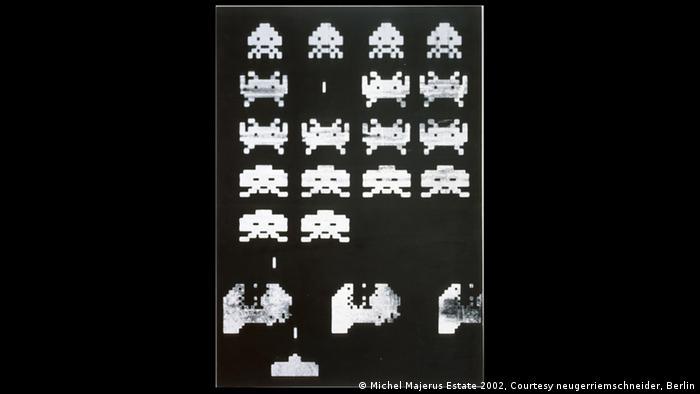 Michel Majerus, Space Invaders 2, 2002