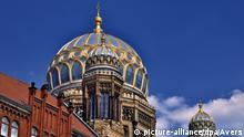 Kuppel der Neuen Synagoge in Berlin (picture-alliance/dpa/Avers)