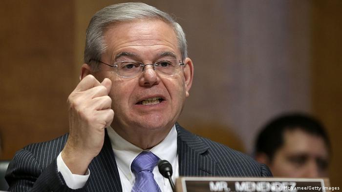 Demokratischer US-Senator Robert Menendez,