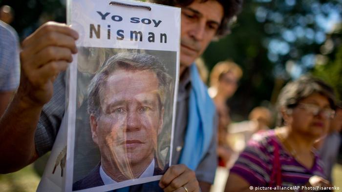 Pro Nisman Demo in Buenos Aires