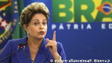 Brasilien Brasilia Planalto Palast Dilma Rousseff