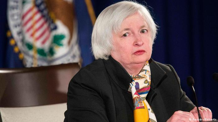 Fed-Chefin Janet Yellen (Foto: Reuters)