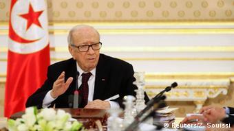 Tunesien Tunis Präsident Beji Caid Essebsi Statement Terroranschlag