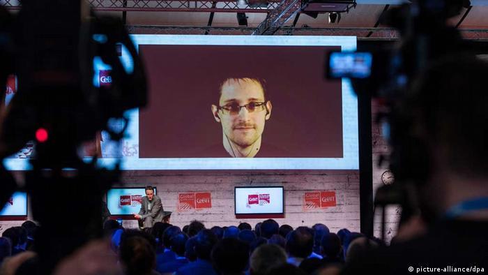 Comunicación con Edward Snowden, desde la Feria CeBIT, Hannover (18.03.2015)
