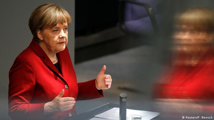 Deutschland Merkel Regierungserklärung vor EU Gipfel