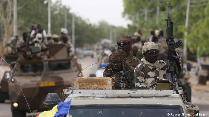 Chadian troops deployed to fight Boko Haram in Nigeria REUTERS/Emmanuel Braun