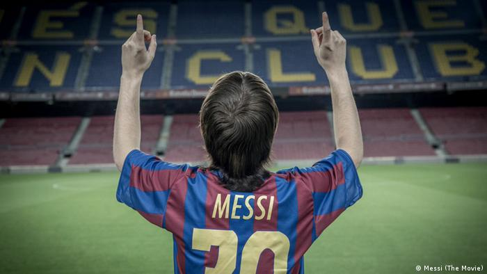 A still from the film Messi (The Movie)