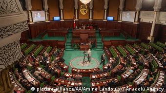 Tunesien Tunis Parlament Sondermeeting Bardo Museum