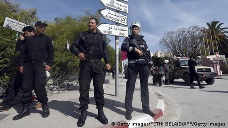 Tunesien Tunis Terroranschlag Bardo Museum Polizei Sicherheit