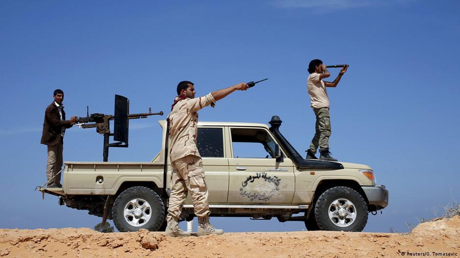 اشتباكات عنيفة في طرابلس الليبية | DW | 18.04.2015
