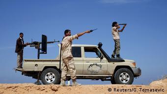 Kämpfer der Libyschen Morgenröte, 18.03.2015 (Foto: Reuters)