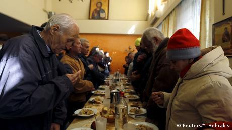 Griechenland Suppenküche in Athen