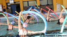 Senioren bei der Wassergymnastik