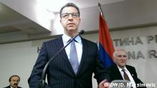 Serbien Festnahme