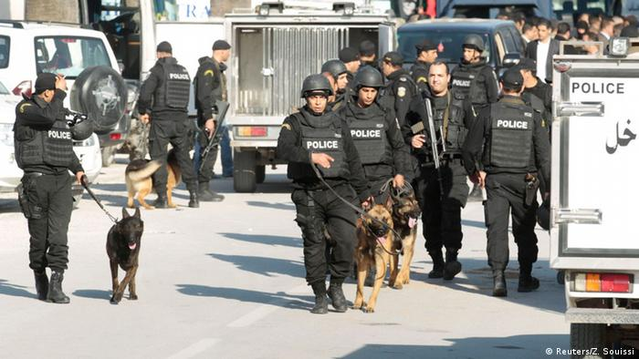 Tunesien Tunis Terroranschlag Bardo Museum Polizei Sicherheit Fahndung