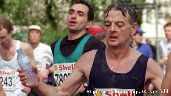 Йошка Фишер участвует в марафоне