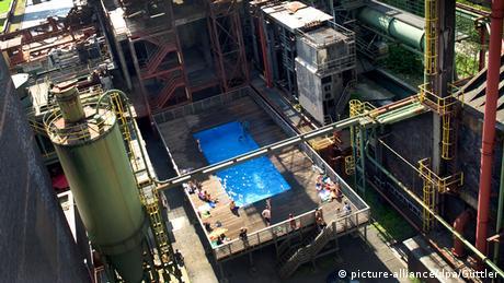 Werksschwimmbad auf Zeche Zollverein