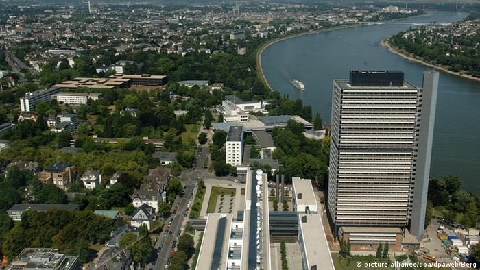 Bonn UN-Campus und Deutsche Welle (picture-alliance/dpa/dpaweb/Berg)