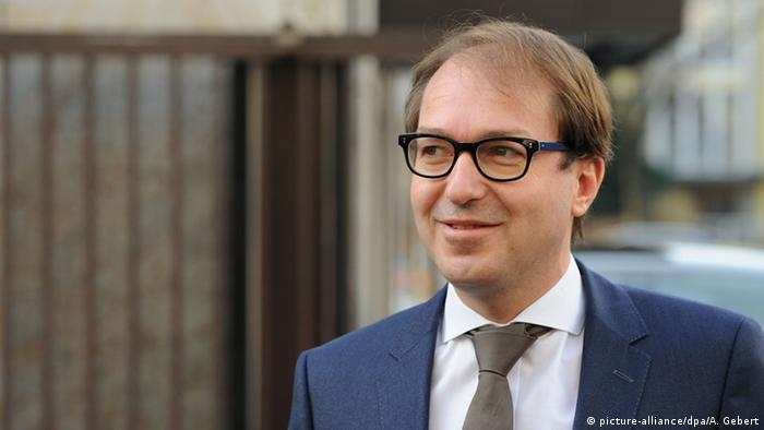 German Transport Minister Alexander Dobrindt
