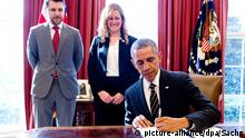Obama unterschreibt Executive Order