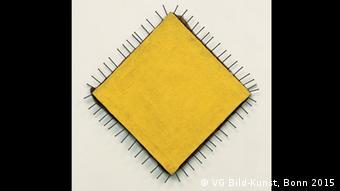 Желтая картина (Das gelbe Bild). Гюнтер Юккер. 1957