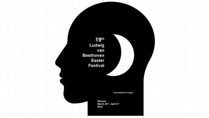 Poster des Ludwig van Beethoven-Oster-Festivals in Warschau
