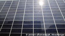 Symbolbild Solarstromanlage Sonnenfinsternis