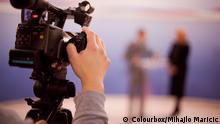 Auf dem Bild: Stock Bild von 'pressen, professional, presse' Rechte: Colourbox/Mihajlo Maricic