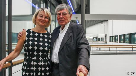 Catherine Beckmann und Prof. Joachim Schürmann