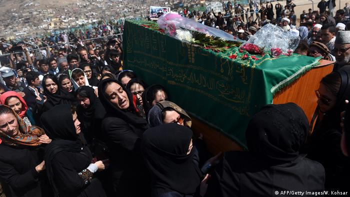 Afghanistan puts to rest woman lynched for allegedly desecrating the Koran