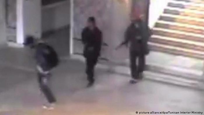 Tunesien Tunis Terroranschlag Bardo Museum Screenshot Überwachungskamera