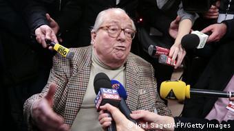Frankreich Paris Departementswahlen Jean-Marie Le Pen (Foto: OEL SAGET/AFP/Getty Images)