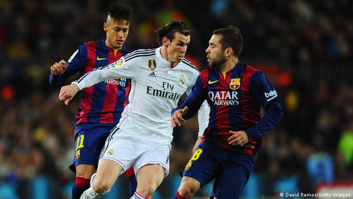 Spanien Fußball El Clasico Barcelona vs. Real Madrid