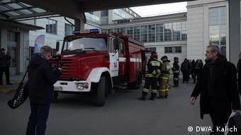 Пожарные приехали сразу
