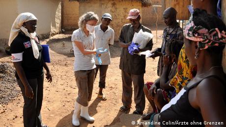 Guinea MSF Ärzte ohne Grenzen Einsatz gegen Ebola