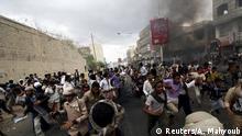 Jemen Demo und Straßenkämpfe in Taiz