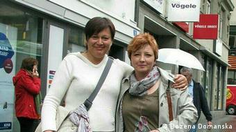 Agata J. und Bozena Domanska Pflegerinnen aus Polen