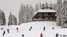 BdT Skifahrer am Feldberg