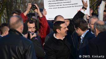 Deutschland Griechenland Besuch Tsipras in Berlin