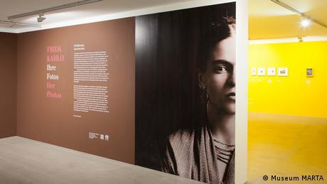 Austellung Frida Kahlo - Ihre Fotos Ausstellungsansicht
