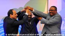 Sudan Khartum Abkommen gemeinsame Nil-Wasser Nutzung