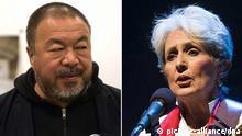 Ai Weiwei und Joan Baez