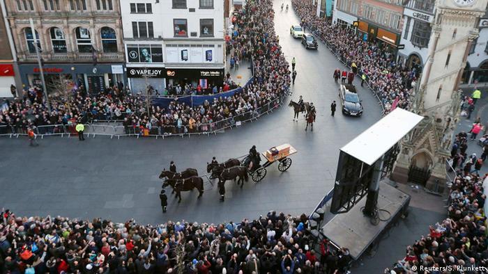 Großbritannien Trauerfeier König Richard III