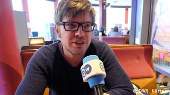 Filmmaker Gerd Schneider in an interview with DW, Copyright: DW