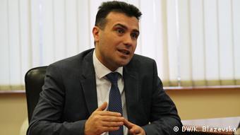 Mazedonien Zoran Zaev