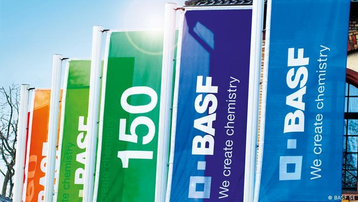 BASF feiert 150-jähriges Jubiläum in 2015 (BASF SE)