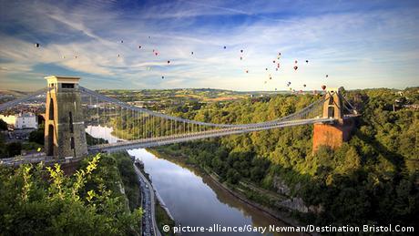 Großbritannien Clifton Suspension Brücke