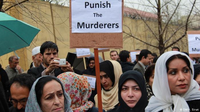 Afghanistan Proteste gegen Lynchmord